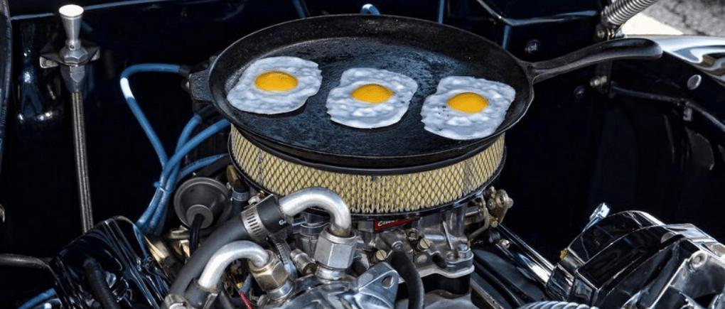 Aprende a preparar tu comida en tu propio auto.