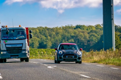 Cómo compartir la carretera de manera segura