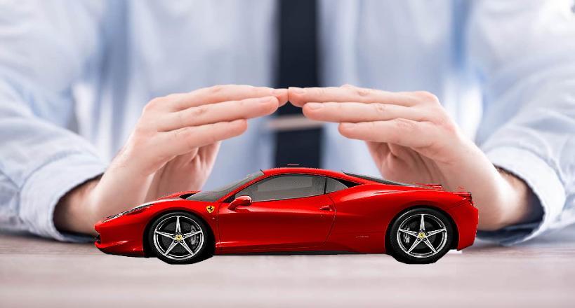 Coberturas de los coches deportivos